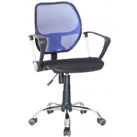 Кресло Марс РС-900 синий/черный