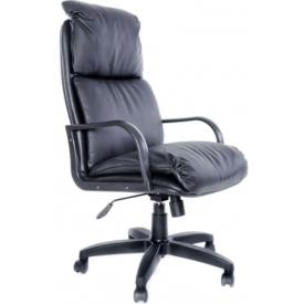 Кресло Надир черная кожа