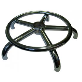 Крестовина хром с кольцом для ног 440мм.