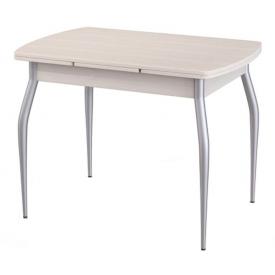 Стол раздвижной М-2 дуб светлый 750х1000/1600х670