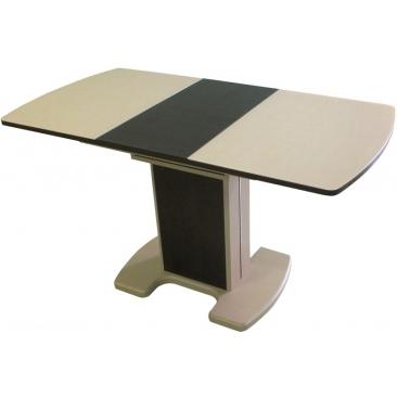 Стол раскладной Фабио-2 клен/венге 750х1000/1350х700