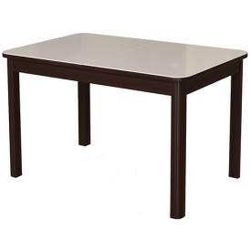 Стол раскладной №41 венге/стекло белое 740х1200/1570х800