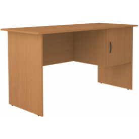 Стол письменный однотумбовый 1 дверь (ВхШхГ)750х1400х600