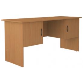Стол письменный 2‑х тумбовый 2 двери (ВхШхГ)750х1600х600