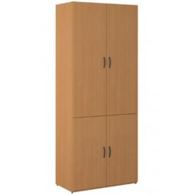 Шкаф 4-х дверный закрытый (ВхШхГ)2010х860х450
