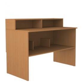 Стол-барьер библиотечный (ВхШхГ)750х1200х600