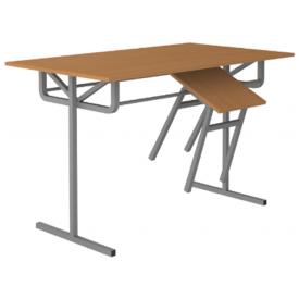 Стол обеденный под табурет 4-х местный (ВхШхГ)760х1200х700