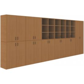 Шкаф модульный-2 методический кабинет (ВхШхГ)2010х5160х450