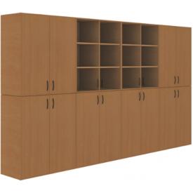 Шкаф кабинета химии-1 (ВхШхГ)2010х3440х450