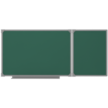 Доска двухэлементная магнитно/меловая (ВхШхГ)1000х2250х10