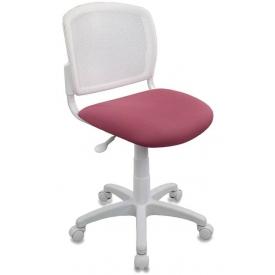 Кресло CH-W296NX белый/розовый