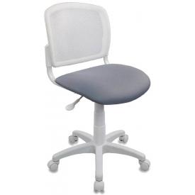 Кресло CH-W296NX белый/серый