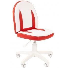 Кресло Kids-122 белый/красный
