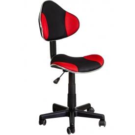 Кресло MIAMI черный/красный