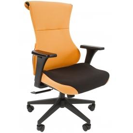 Кресло Game-10 оранжевый/черный