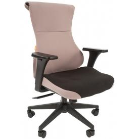 Кресло Game-10 серый/черный