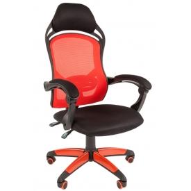 Кресло Game-12 красный/черный