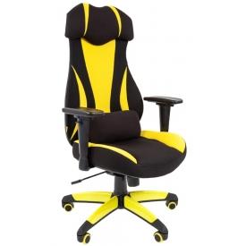Кресло Game-14 желтый/черный