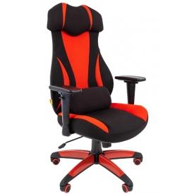 Кресло Game-14 красный/черный