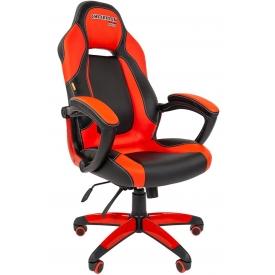 Кресло Game-20 красный/черный