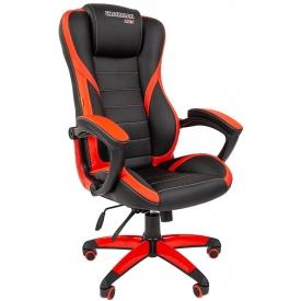 Кресло Game-22 черный/красный