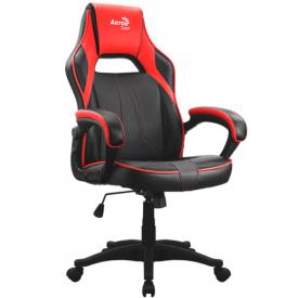 Кресло AeroCool AC40C AIR красный/черный