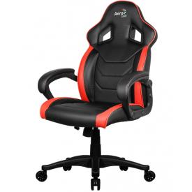 Кресло AeroCool AC60C AIR красный/черный