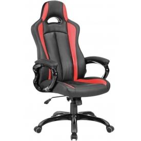Кресло CH-827 черный/красный