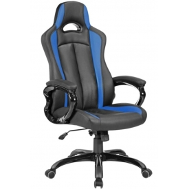Кресло CH-827 черный/синий