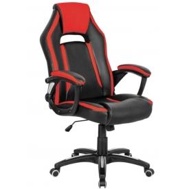 Кресло CH-829 черный/красный
