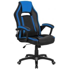 Кресло CH-829 черный/синий