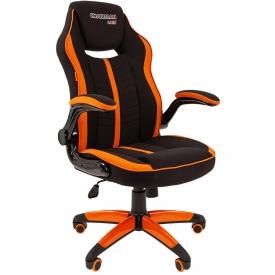 Кресло CHAIRMAN GAME-19 оранжевый/черный