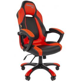 Кресло CHAIRMAN GAME-20 красный/черный
