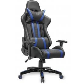 Кресло GAMER черный/синий