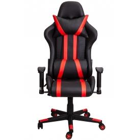 Кресло GAMER черный/красный
