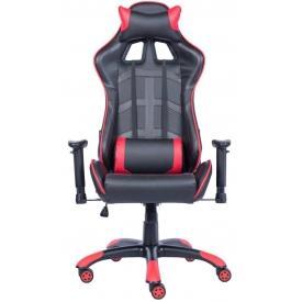 Кресло Lotus S10 PU красный/черный
