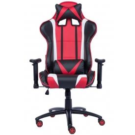 Кресло Lotus S13 PU красный/черный