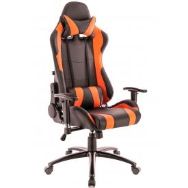 Кресло Lotus S2 оранжевый/черный