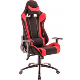 Кресло Lotus S4 красный/черный