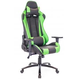 Кресло Lotus S9 зеленый/черный