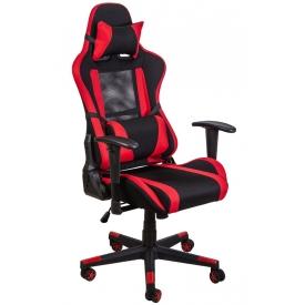 Кресло OPTIMUS красный/черный
