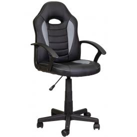 Кресло RACE черный/серый