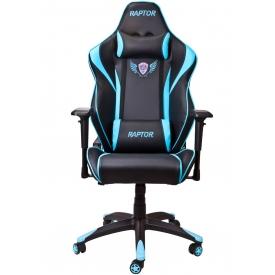 Кресло RAPTOR синий/черный