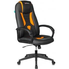 Кресло Viking-8N черный/оранжевый