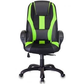 Кресло Viking-9 черный/салатовый
