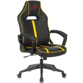 Кресло VIKING ZOMBIE A3 черный/желтый