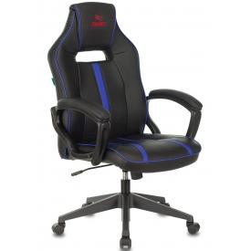 Кресло VIKING ZOMBIE A3 черный/синий