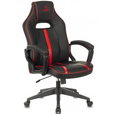 Кресло VIKING ZOMBIE A3 черный/красный