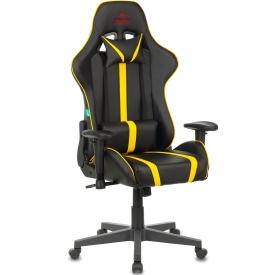 Кресло VIKING ZOMBIE A4 желтый/черный