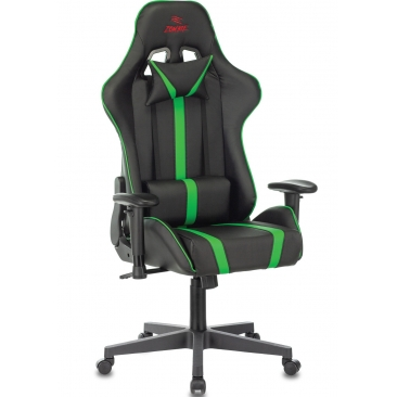 Кресло VIKING ZOMBIE A4 зеленый/черный